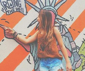 girl, fashion, and nyc image