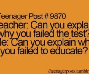 funny, school, and teenager post image