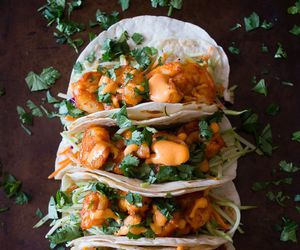 tacos, food, and shrimp image