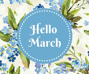 flowers, march, and month image