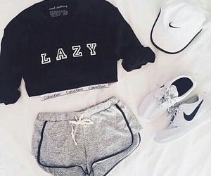 nike, outfit, and Lazy image