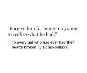 heartbreak, quote, and Relationship image