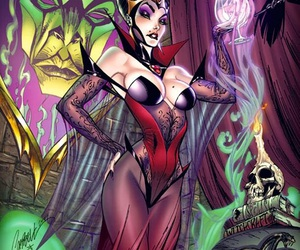 sexy, j scott campbell, and fairytale fantasies image