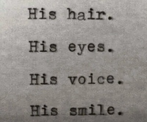 smile, love, and eyes image