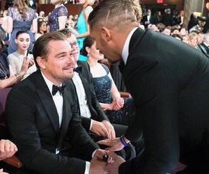 Academy Awards, tom hardy, and leonardo dicaprio image