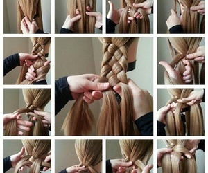 braids, hairstyle, and tutorial image