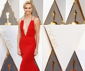 Charlize Theron, oscar, and red carpet image