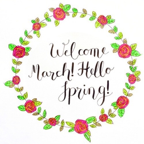 Welcome March Uploaded By Mia On We