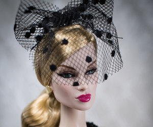 blonde, doll, and fashion image