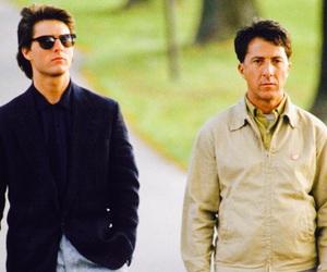 rain man, dustin hoffman, and Tom Cruise image