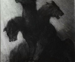 black, hell, and Darkness image