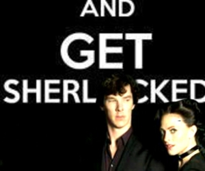 keep calm, irene adler, and lara pulver image