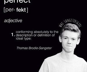 definition, thomas sangster, and sangster image