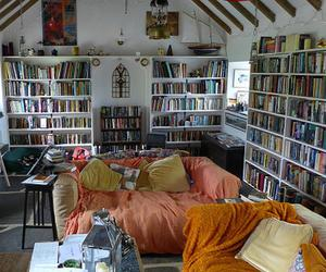 books, heaven, and reader image