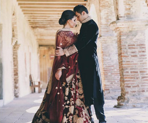 beautiful, indian, and couple image