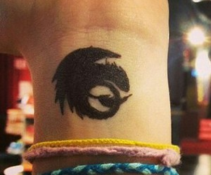 tattoo and how to train your dragon image