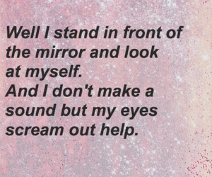 help, insecure, and Lyrics image