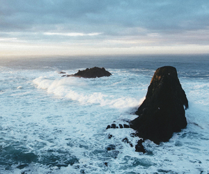 ocean, nature, and water image
