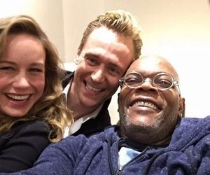 brie larson and tom hiddleston image