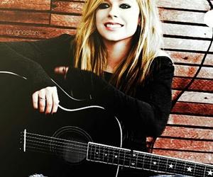 Avril Lavigne, guitar, and Avril image