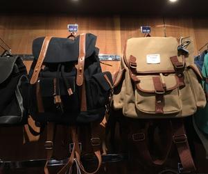 backpack, bag, and korea image