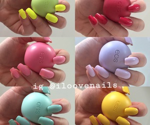 nails, eos, and fashion image