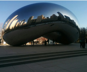 bean, chicago, and downtown image