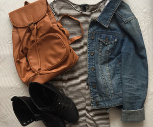 school, style, and fashion image