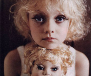 doll, dakota fanning, and eyes image