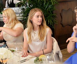 amber heard, beauty, and dinner image