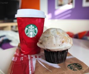 christmas, cup cake, and yummy image