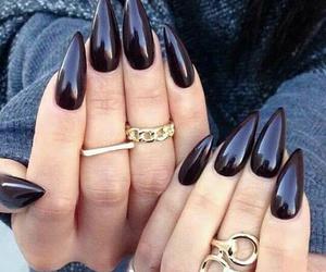 brown, nail, and ring image