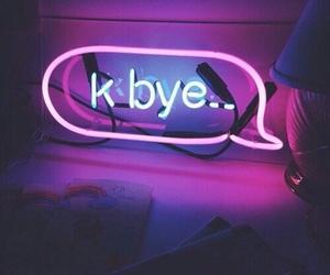 neon, light, and purple image