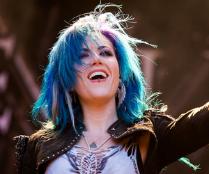 blue hair, arch enemy, and alissa white-gluz image
