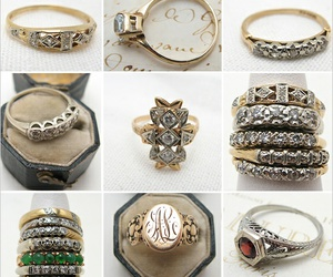 antique, vintage, and jewerly image