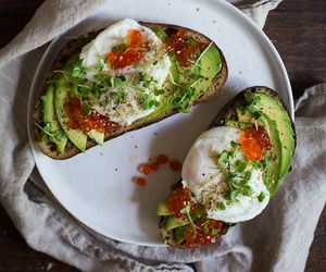 avocado, cheese, and food image