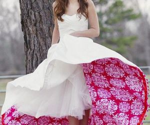 color, pink, and dress image