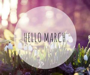 happiness, spring, and march image