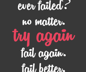 fail, motivation, and words image
