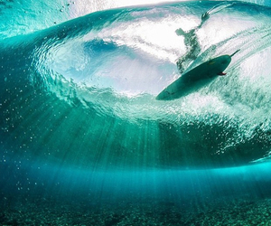 surf, summer, and water image