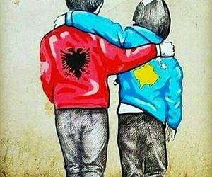kosovo, ♥, and albania image