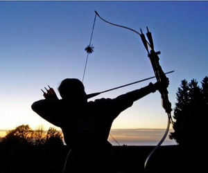 archer, archery, and freedom image