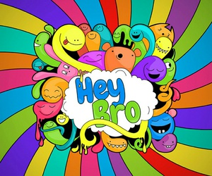 bro, colors, and hey image