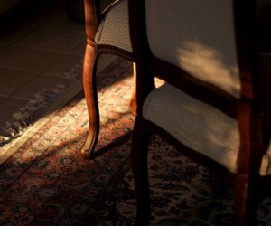 brown, chair, and dark image