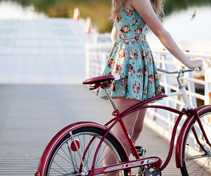 bike, xoxo, and dress image