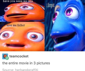 funny, finding nemo, and meme image