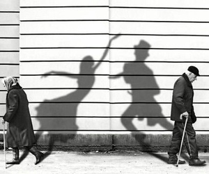 dance, old, and black and white image