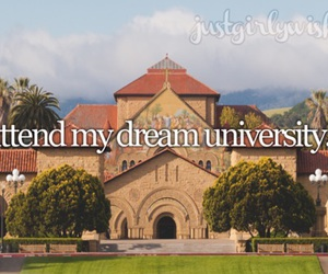 Stanford, college, and Dream image