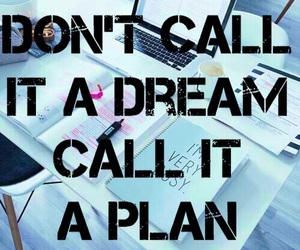 Dream, motivation, and plan image
