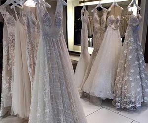color, wedding dresses, and details image